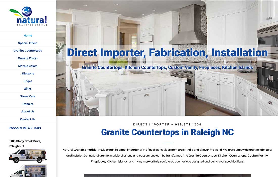 Natural Granite And Marble LLC Is A Granite Countertops And Marble  Installer In Raleigh, NC. They Offer Great Craftsmanship And Outstanding  Service At A ...