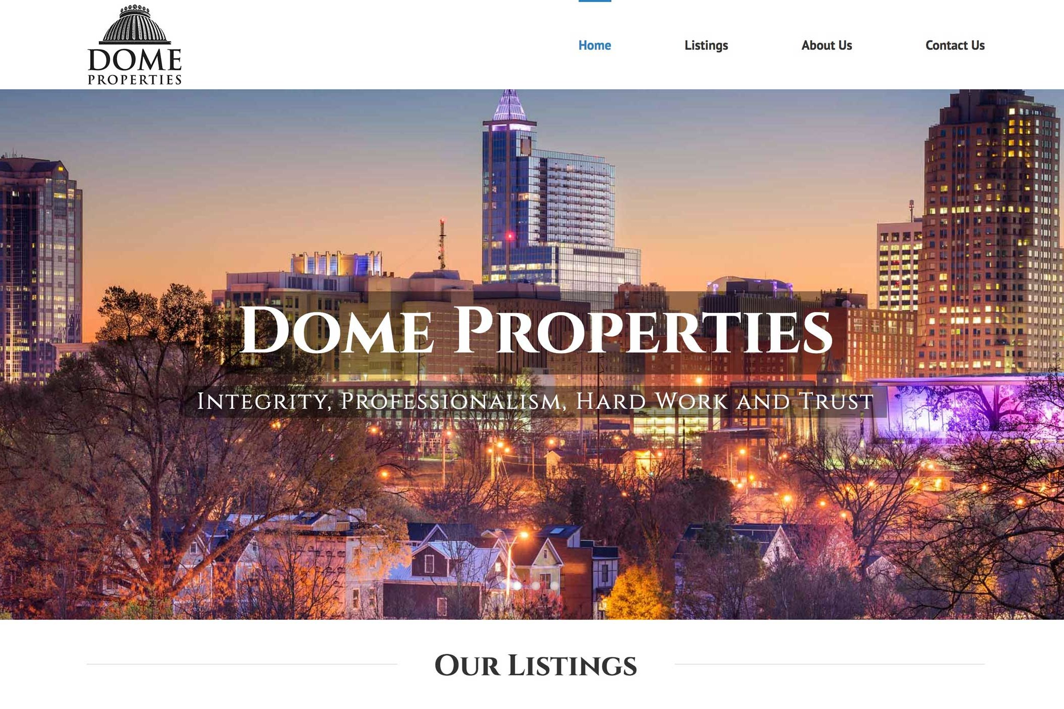 Dome Properties
